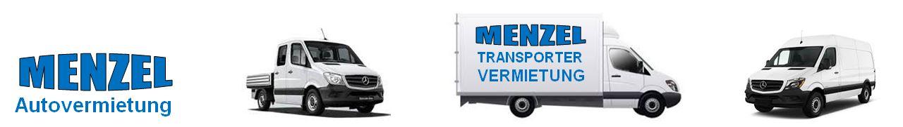 Transporter mieten bei Menzel, da passt einfach alles.